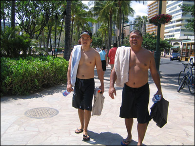 Kelvin and Todd, Hawaii's most eligible bachelors