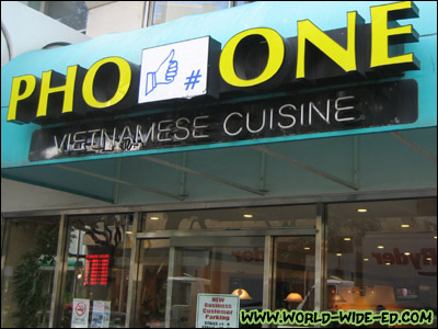 Pho One Sign