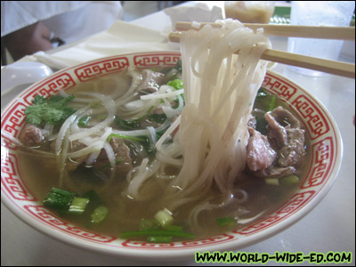 Medium Pho Tai Bowl (#1 - Rare Steak Only - $5.50)