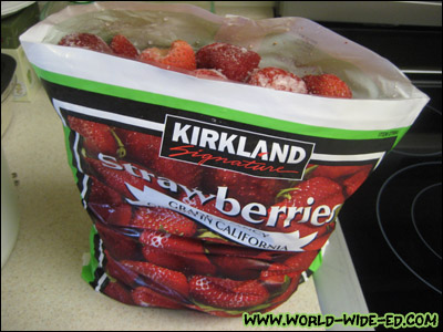 Sizable Sack o' Strawberries