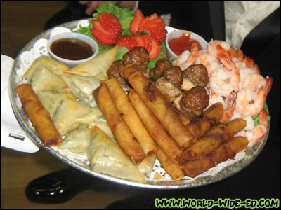 Pupu Platter from Freedom Hall and Gardens