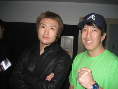 Takanori Gomi and I