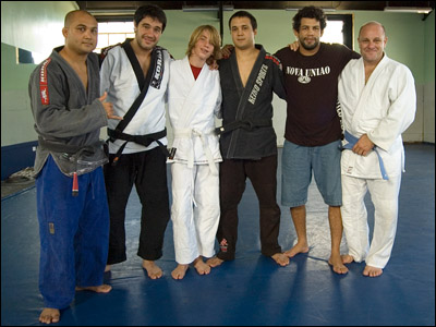 BJ Penn, unknown, Kennan Cornelius, Reagan Penn, Tony DeSouza and Tom Callos. (Photo Courtesy: Tom Callos)