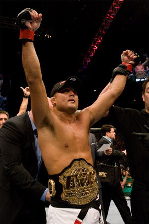 UFC Lightweight Champion B.J. Penn (Photo Courtesy: UFC)