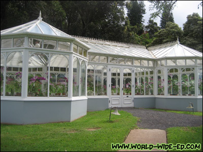 Orchid House and Gardens