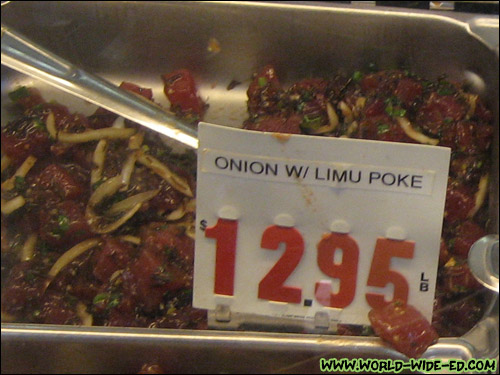 Onion Limu Poke ($12.95/pound)