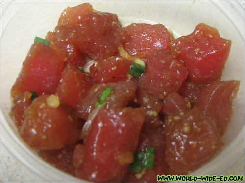 (Previously Frozen) Ahi Shoyu Poke ($7.99/lb)