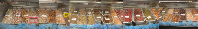 Numerous poke choices at KTA