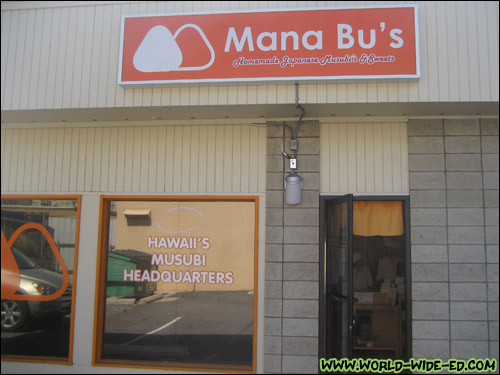 Mana Bu's on South King Street