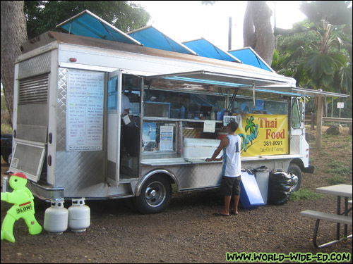 Opal Thai Food Wagon in Haleiwa