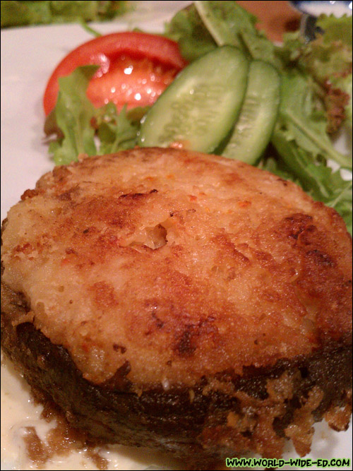 Stuffed Portobello