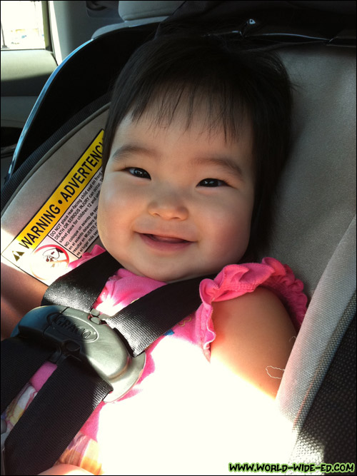 Smiling baby