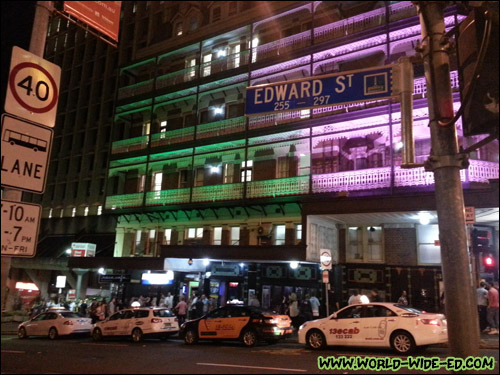 Possibly the best named street in all the land: Edward Street. 8)