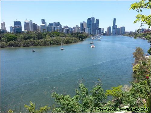 A nice look at the Brisbane River