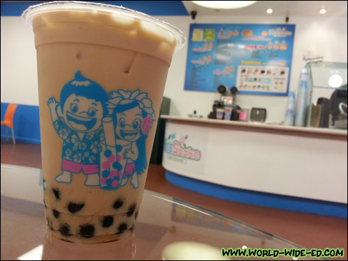 Signature Milk Tea from HulaShake