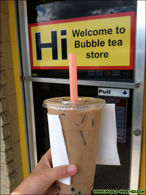 Milk Tea from Hi Sandwich & Drink