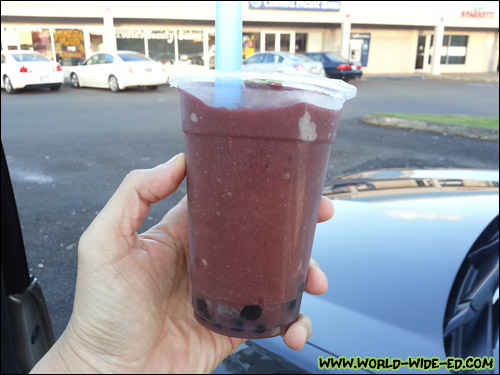 Acai Bubble Drink from Lyndliz
