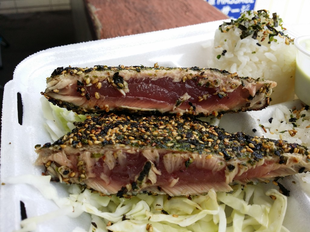 Furikake Pan Seared Ahi