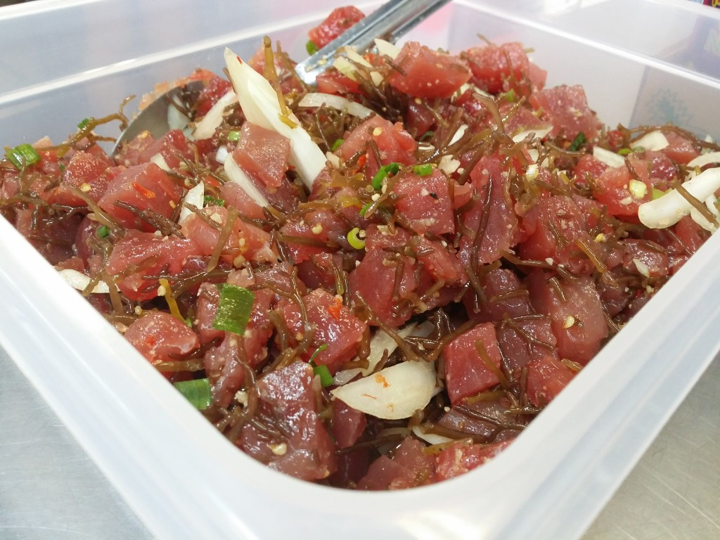 Batch of Hawaiian Style Poke is ready