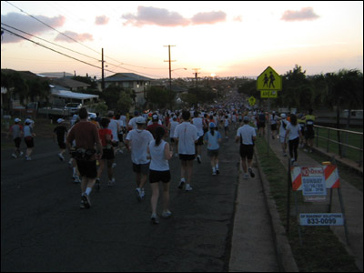 2006 Honolulu Marathon - 18th Ave