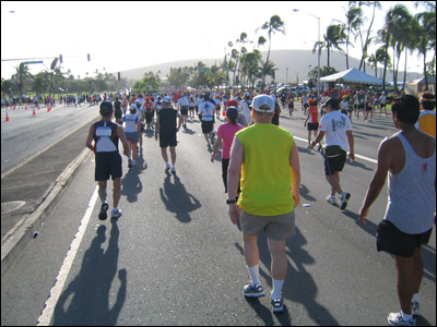 2006 Honolulu Marathon - Hawaii Kai