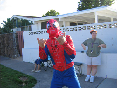 2006 Honolulu Marathon - Spiderman