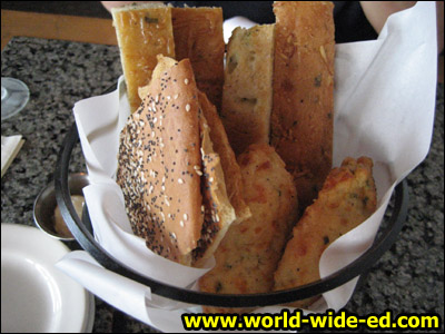Breadstick/Lavash/muffin-ish type basket
