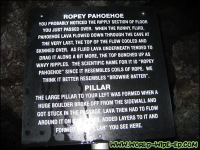 Ropey Pahoehoe Explanation