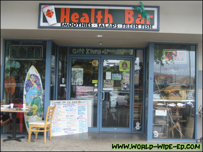 Diamond Head Cove Health Bar