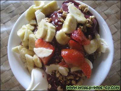 Da Cove Bowl (Açai, Bananas, Strawberries, Granola & honey) - $7.50