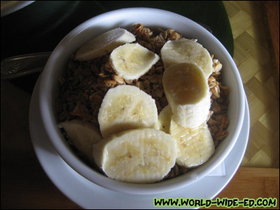 Açai Bowl - Refreshing blend of Açai & banana served with local made Anahola granola - $7.95