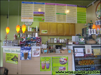 Inside Jewel or Juice