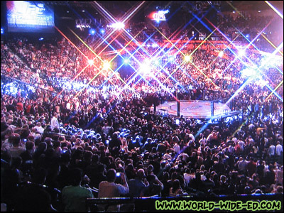 Dave and I forever a part of UFC 94 history. LOL!