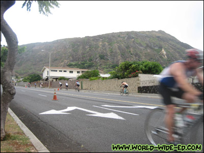 Heartbreak Hill in Hawaii Kai - generally speaking, the midway point for the bike ride [Photo Credit: wifey]