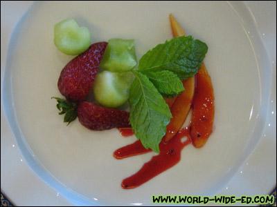 Fruit medley appetizer
