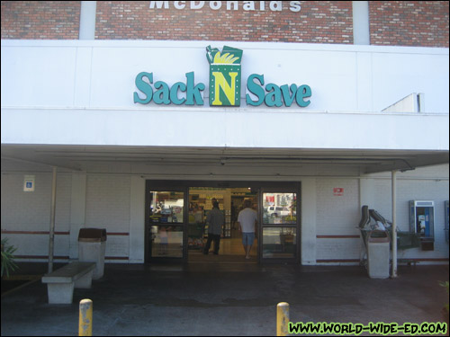 Kinoole Street Sack N Save in Hilo