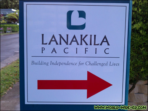 Lanakila Pacific sign