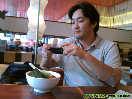 Rick Nakama (@RickNakama) tweeting his bowl