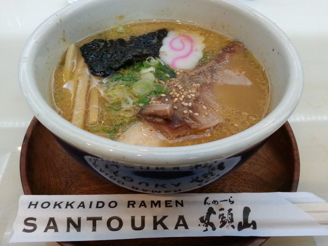 Hokkaido Ramen Santouka - Japan Style Ramen Opens Shop Outside Don Quijote