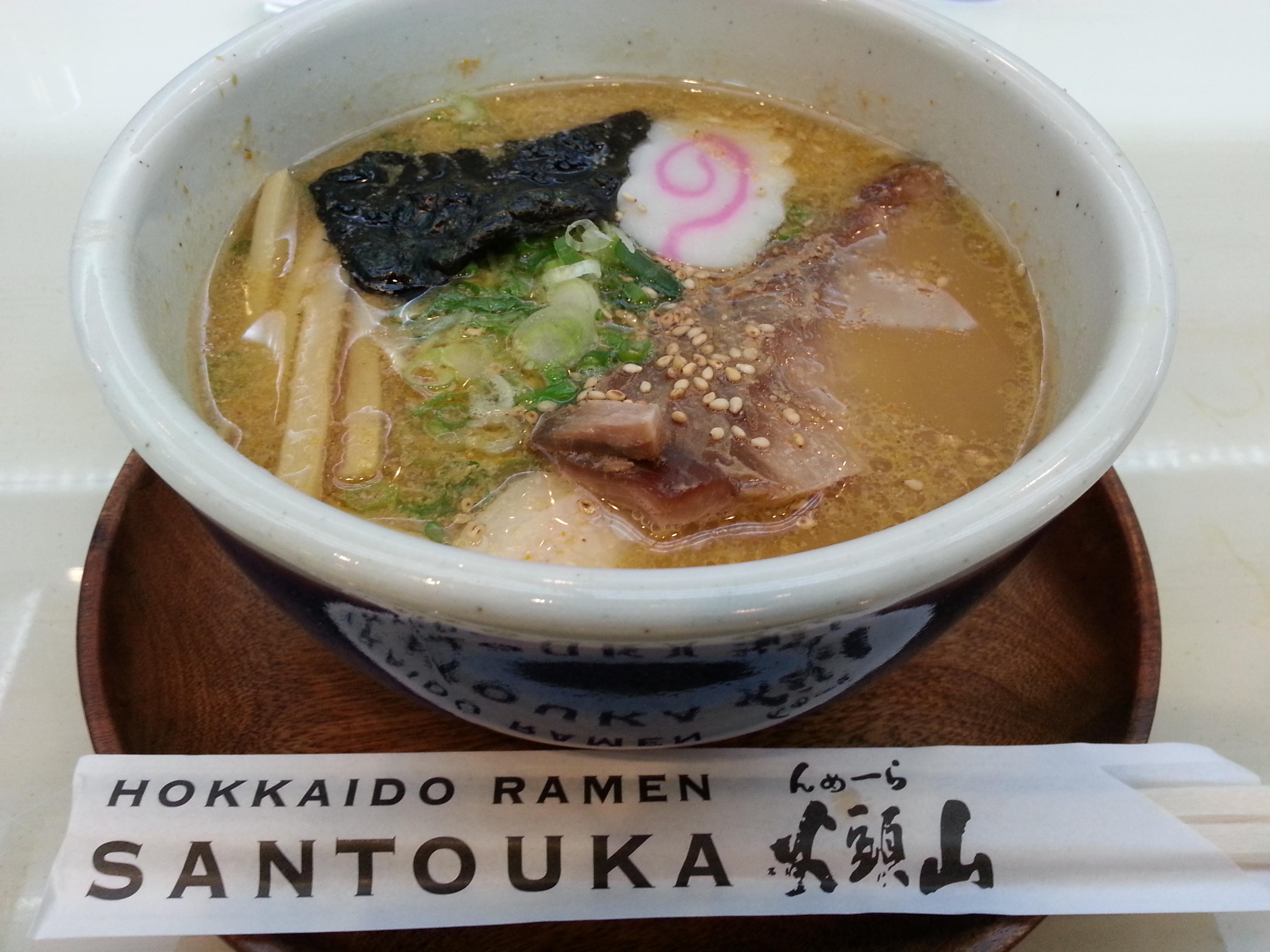 Hokkaido Ramen Santouka – Japan Style Ramen Opens Shop Outside Don Quijote