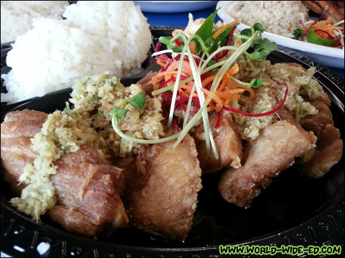 Island Fresh Ahi Belly ($12.95)