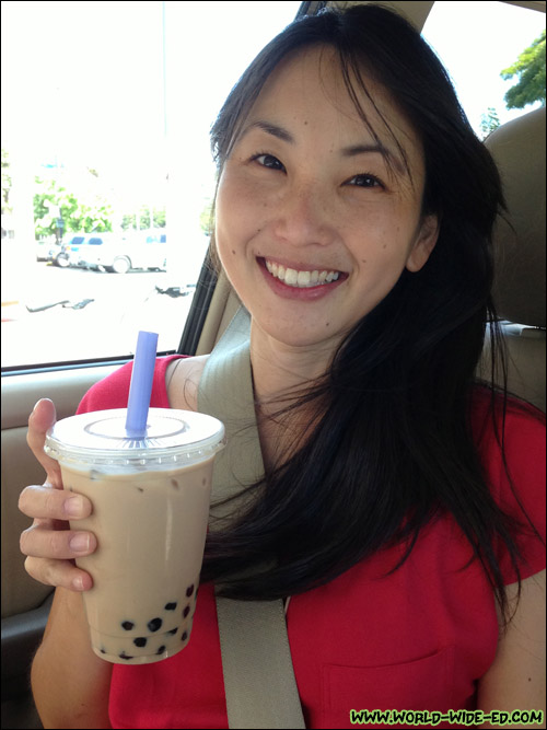 Happy, milk tea-fed wife, happy life.
