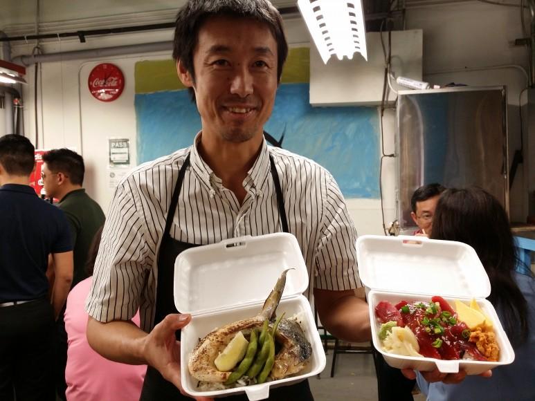 Junichiro Tsuchiya of Maguro Brothers