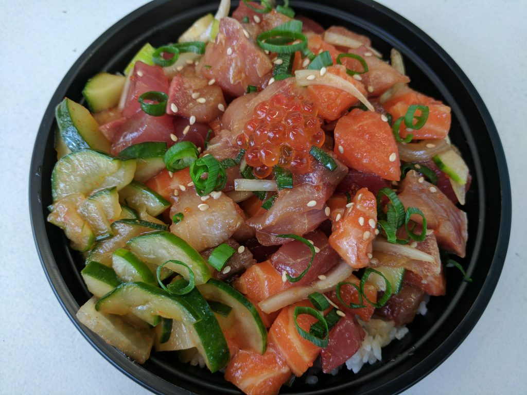 Custom Poke Bowl from Aloha Poke Shop